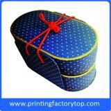Rectángulos de empaquetado de regalo de los colores completos de la aduana de lujo del rectángulo