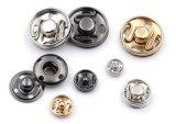 Botón del broche de presión de la prensa del metal de la buena calidad de los accesorios de la ropa