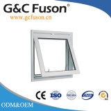 Ventana de cristal del toldo del marco de aluminio de la fabricación y de la venta de la fábrica de Guangzhou China para utilizado