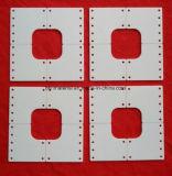 Parte di ceramica perforata Polished del substrato dell'allumina di 96%