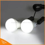 اثنان [لد] بصيلة مصباح داخليّة شمسيّ يزوّد ضوء لأنّ حديقة يخيّم