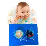 BPA는 뚜껑을%s 가진 실리콘 아기 유아 사발을 해방한다