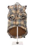 L'hiver contrôlé de jupe d'animal familier d'usure de couche de crabot de configuration vêtx l'habillement
