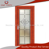 Aluminio americano de gama alta del estilo y puertas de cristal del francés/del marco