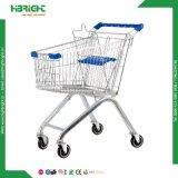 Verzinkte Supermarkt-Einkaufen-Laufkatze-Karre