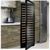 Construit dans la cave de système de refroidissement de compresseur dans des réfrigérateurs de vin