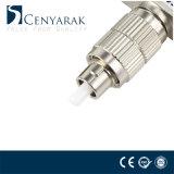 Da fibra híbrida fêmea masculina do metal do Sc de FC adaptador ótico