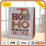 Bolsa de papel del regalo del modelo de la pajarita de la Navidad