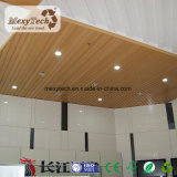 Het staaf-type Opgeschorte Plafond WPC van het Plafond van pvc Samengestelde voor de Decoratie van de Woning
