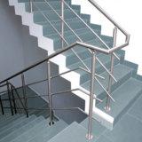 Balaustrada dos trilhos da escada do vidro de segurança para a decoração interna