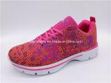 Nuevos colores de la mujer calzado Zapatillas zapatos atléticos corriendo (WL1218-1)