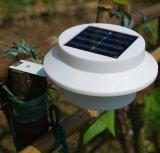 LED impermeável ao ar livre Medianiz Solar Luz com Sensor Inteligente