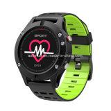 Braccialetto astuto della fascia di GPS di frequenza cardiaca del video di altezza del tester del pedometro astuto del termometro