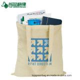 Saco de ombro personalizado do algodão da compra do saco de Tote da lona do algodão do orçamento