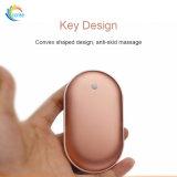 신제품 5000mAh 재충전용 USB 힘 은행 손 온열 장치