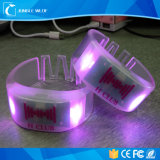 Дистанционного управления Wristband электрофонаря PVC СИД