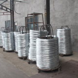 알루미늄 Zn 알루미늄을 철사 /Galfan 95/5의 철사 아연으로 입히거나 철사를 직류 전기를 통하십시오