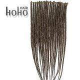 Il singolo colore concluso della miscela i capelli sintetici da 18 pollici teme per le donne di colore