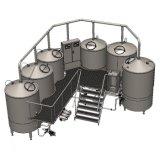 Micro Home Equipamentos Cervejeira com 100L 200L de capacidade