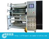 La película de condensador automático de alta velocidad de la máquina de Corte y rebobinado de la máquina con la cuchilla plana