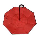 Fördernde 23inch 2 UV Schichten schützen Regenschirm