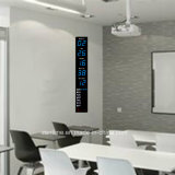 Reloj de la visualización LED Digital del tiempo vertical electrónico y del calendario perpetuo