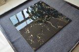 24X24 까만 목욕탕 꽃 패턴 훈장 부엌 벽 도기 타일