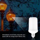 La lámpara del bulbo de la llama del LED que oscila, 1300K verdad la linterna de la llama del color del fuego