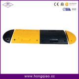 Topetones de velocidad de goma amarillos y negros (JSD-011)