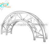 Алюминиевый корпус для изготовителей оборудования с полукруглой арки круг опорных пять звезд опорных