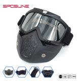 Het afneembare Masker van de Beschermende brillen van de Motorfiets van het Bewijs van de Wind en van het Stof van de Glazen van de Motocross