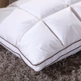 100% algodón almohada de plumón de pato blanco para el hogar utilizando