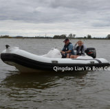Do barco inflável do encarregado do bote de Liya 14feet venda pequena dos barcos do reforço