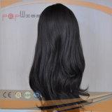 Peluca superior de seda superventas del pelo humano (PPG-l-01720)