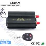 O sistema de seguimento do GPS do veículo do tipo de Coban com o motor remoto do monitor fechou (GPS103B)