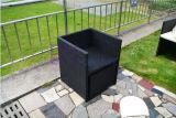 Nuevos vector y silla al aire libre creativos del restaurante de la cafetería del ocio