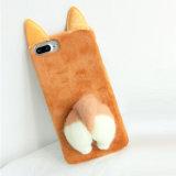 Caixa bonito nova do telefone do luxuoso do cu 3D para o iPhone 7/7plus/8/8plus