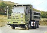 Carro resistente HOWO carro de vaciado de la explotación minera de 50 toneladas