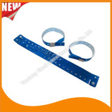 Vinylunterhaltungs-Band Identifikation-Armband-FestivalWristbands (E607054)