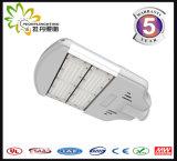 eficiência elevada & economia de energia de luz de rua UL/Dlc/TUV/GS/Ce/RoHS/CB do diodo emissor de luz 100W