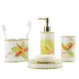 Accesorio con estilo lujoso del cuarto de baño del oro fijado para los electrodomésticos caseros del hogar