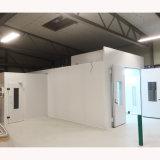 Alta eficiência térmica da cabine de pintura por motores diesel