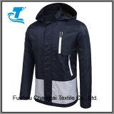 Homens Encapuzados Sportswear Windbreaker da capa de chuva
