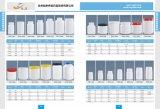 1000g HDPEの固体薬および化学薬品のための容易引きのふたのPlasticcのびん