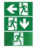 Luz corriente de la salida del hombre de la emergencia de autoprueba del LED