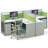 Het Werkstation van het bureau met de Beweegbare Kar van het Voetstuk & van de Kop