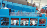Séparateur de tambour magnétique de sable de Zircon d'ilménite de fer de tantale