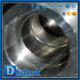 Gas de la válvula de flotador de bola de Didtek con el manual