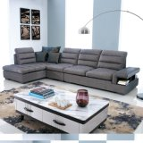 O sofá secional da tela macia moderna ajustou-se para a sala de visitas (F957)