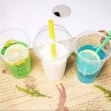 カスタムロゴの使い捨て可能で冷たい飲み物プラスチック16ozペットジュースのコップ
